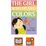 The Girl Who Heard Colors Cover.