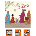 Deep in the Sahara Cover.